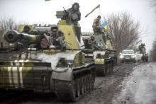 Tanks in Ukraine
